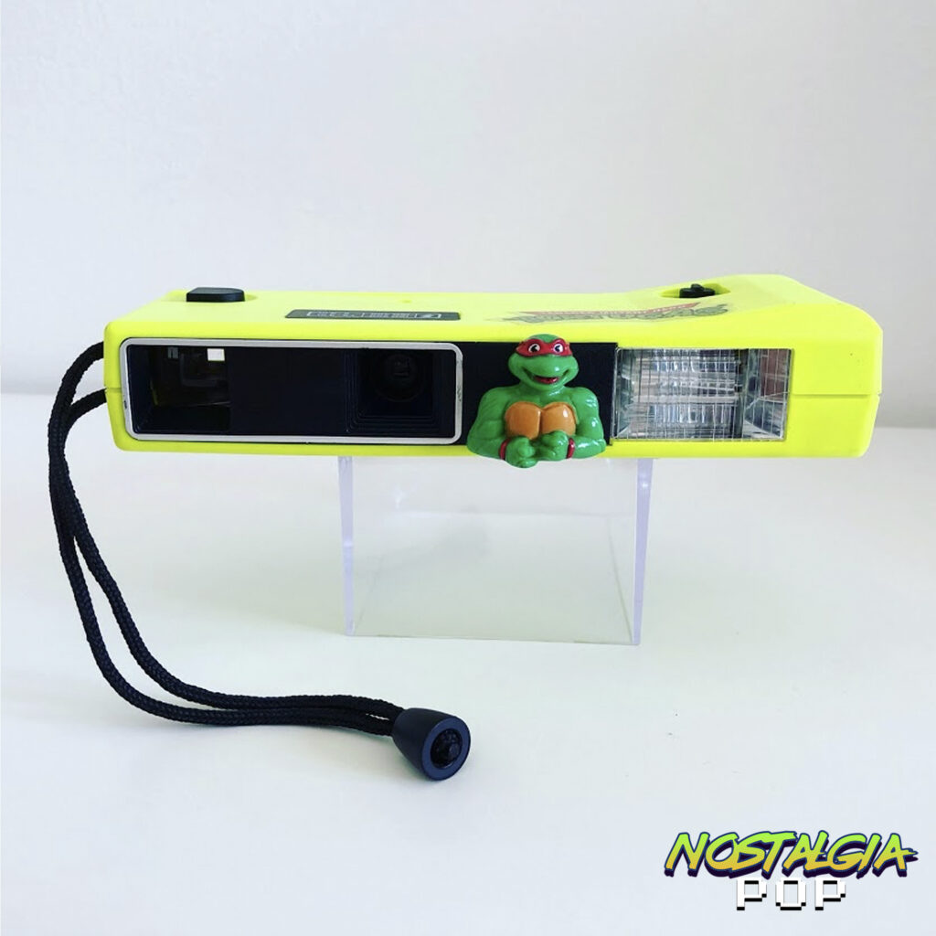 La cámara fotográfica de las Tortugas Ninja (1990)